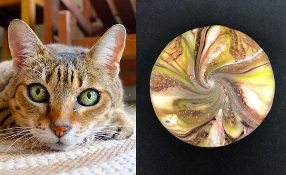 Karma Spiral Pet Memorial - Pet Loss Gift, Pet Memorial, Pet Remembrance, Cat Memorial, Dog Memorial, Sympathy Gift, Pet Lover Gift, #PM20