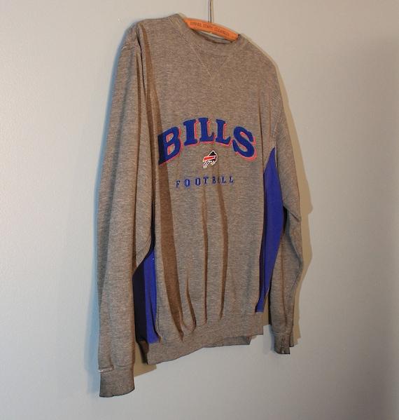 Vintage 1990 s NFL Buffalo Bills Football Blue and Gray  d399e2eac