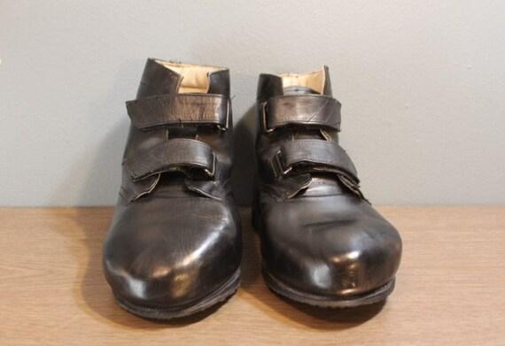 Vintage Alveros Orthopedic Footwear Custom Made Bl