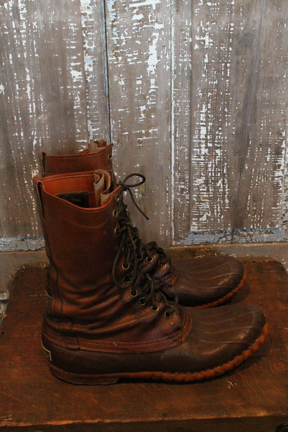 LL Bean Maine Hunting boot men's 9