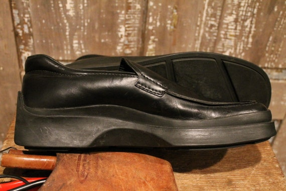 Prada Rubber Sole 1990's Loafers - image 9