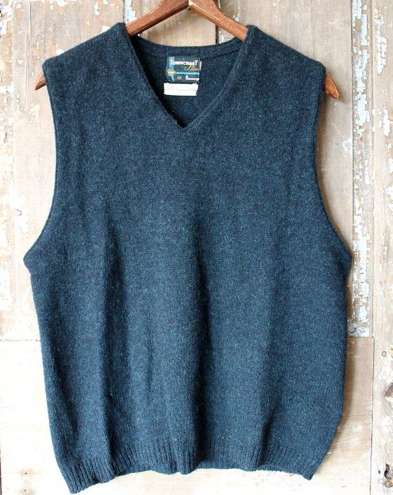 JC Penney Sweater 1950's Vest men's medium