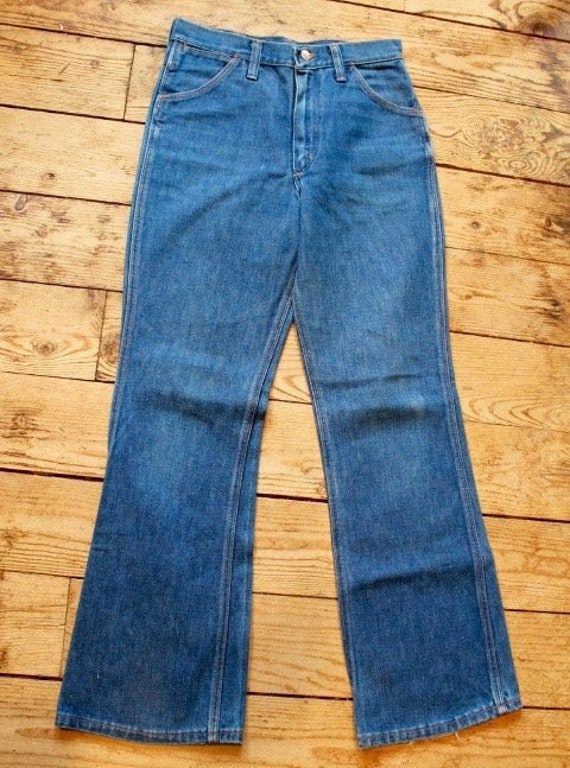 Vintage 70's Wrangler High Rise Boot Cut Jeans Wom