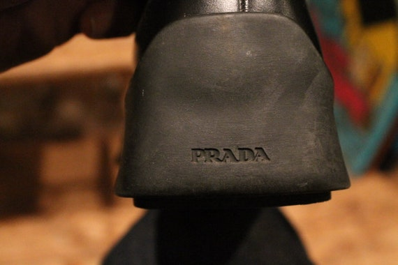 Prada Rubber Sole 1990's Loafers - image 6
