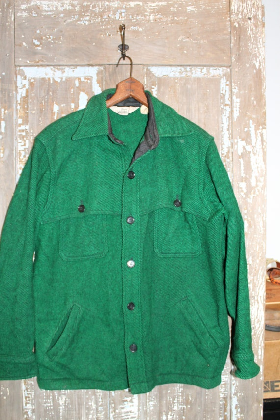Woolrich Wool 70's Shirt Jacket men's medium