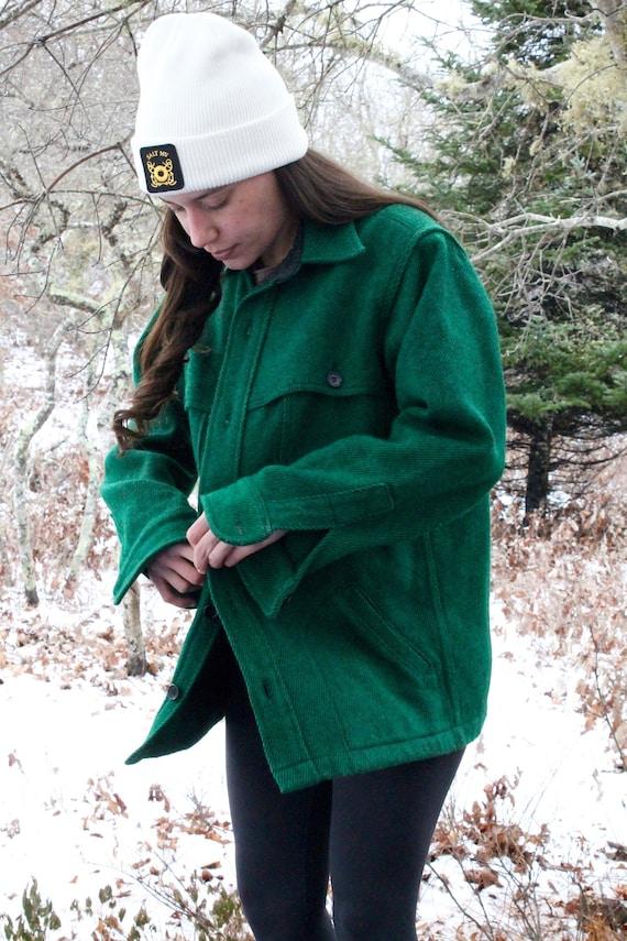Woolrich Wool 70's Shirt Jacket men's medium