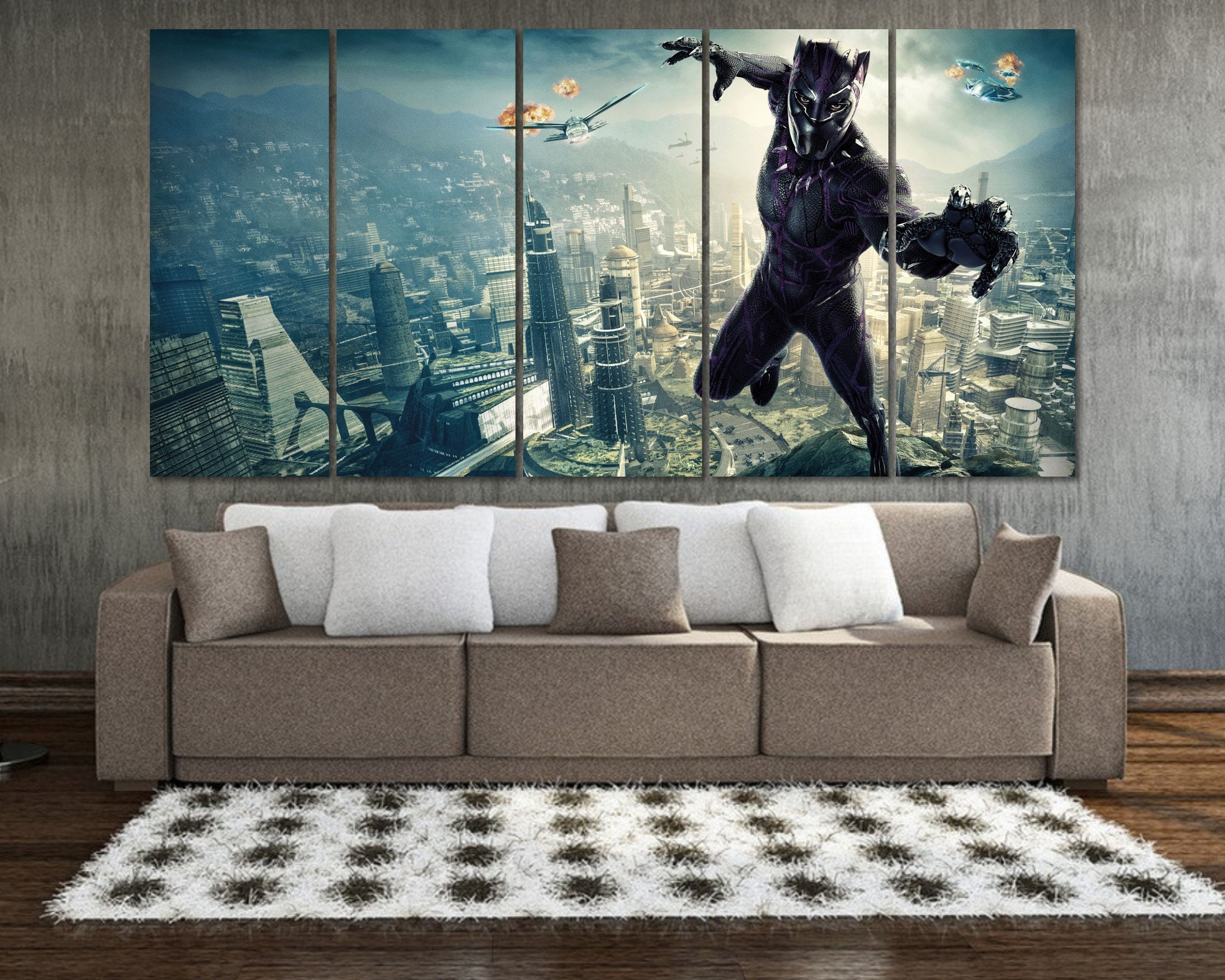 Black panther wall art black panther poster black panther art black panther marvel marvel wall art avengers poster marvel comics art