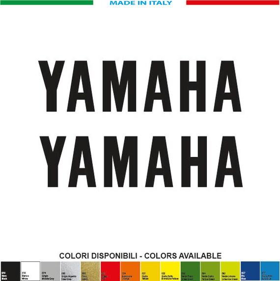 2 Kit Yamaha 200xmm 50 Mm Decals Lettering Stickers Aufkleber Pegatinas Motogp Sbk V Rossi 46