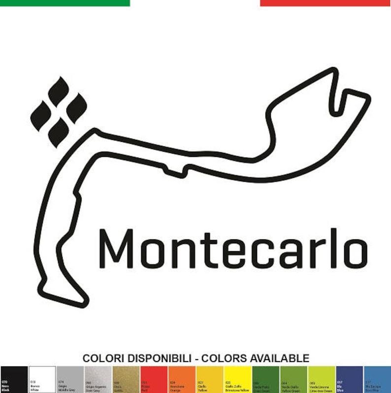 Automobilia Auto, Moto – Pièces, Accessoires Autocollant Renault Monté Carlo Pour Lunette Arrière