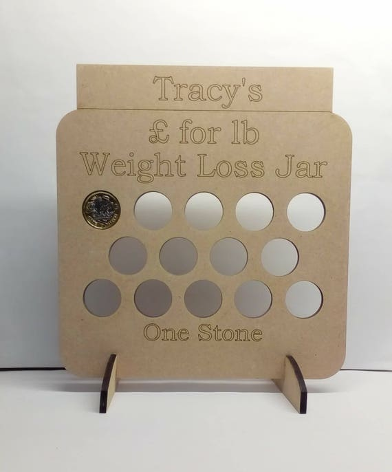 Weight Loss Reward Chart Weight Loss Plaque Mdf Weight Loss Etsy