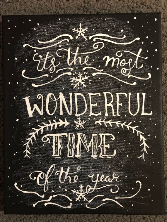 Christmas Chalkboard.Christmas Chalkboard Painting