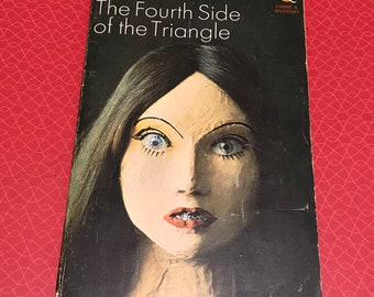 1960's vintage Penguin book/Crime and Mystery books/Ellery Queen/The Fourth Side of the Triangle/vintage paperback/Classic crime book/20th C