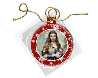 Game of Thrones Margaery Tyrell Natalie Dormer  Christmas Ornament