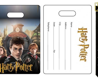 Harry Potter Daniel Radcliffe Bag Luggage Tag
