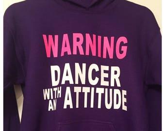 Dancer / Acro / Tumbling / Cheerleading / Gymnastics / Ballet Hoodie