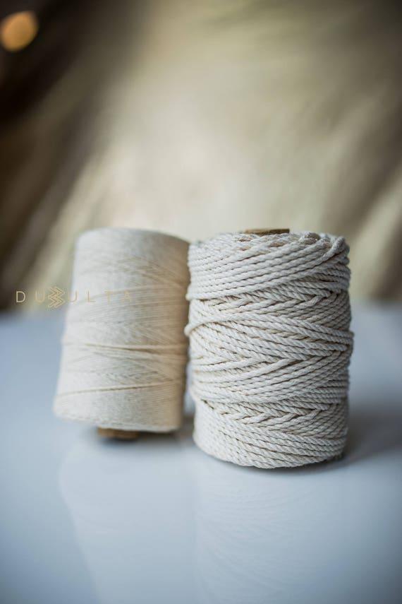 Masse Großhandel Seil Bulk-Baumwoll-Garn Makramee Schnur | Etsy