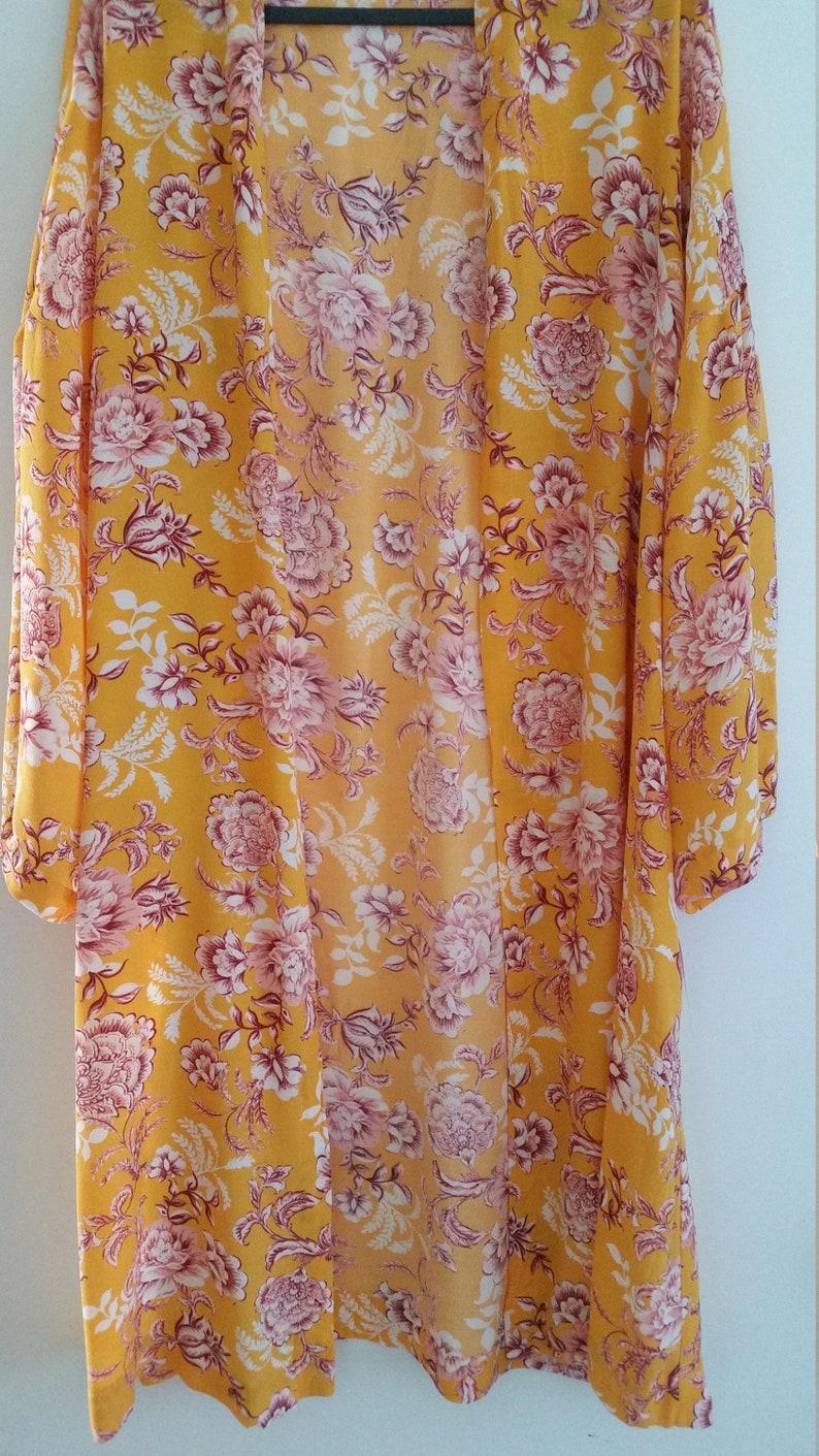 Boho duster long kimono