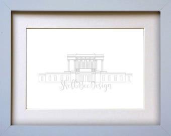 Mesa LDS Temple - Digital Download