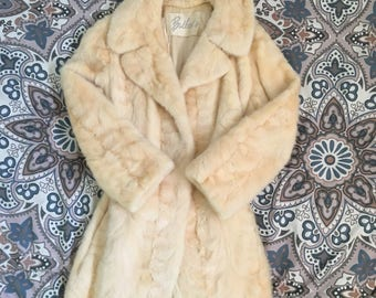 Vintage 1960s fur coat