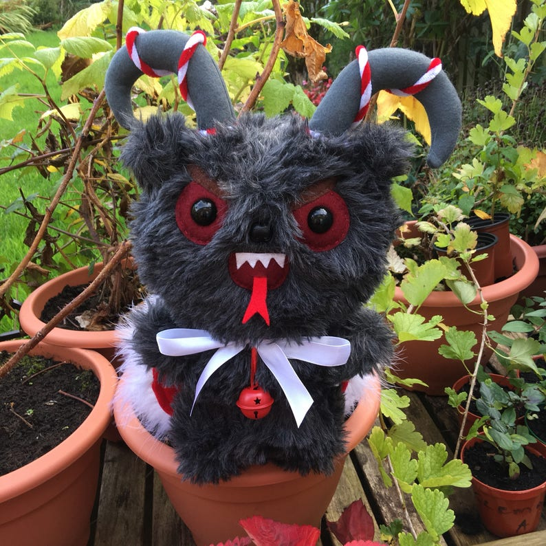 Krampus Plush Toy Horror Christmas Ornament Christmas image 0