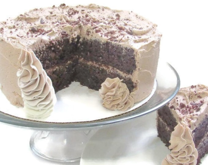Featured listing image: Gourmet Chocolate Cake, Fresh Baked Goods, Homemade Cake, Birthday Cake