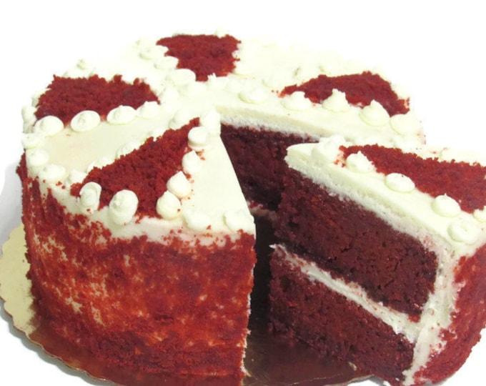 Featured listing image: Gourmet Red Velvet Cake, Homemade Cake, Fresh Baked Goods