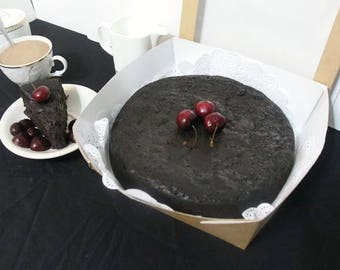 Fruit Cake, Jamaican Rum Cake, Black Cake Scrumptiously Moist & Delious, Gift For Him, Gift For Her, Baked Goods, Edible