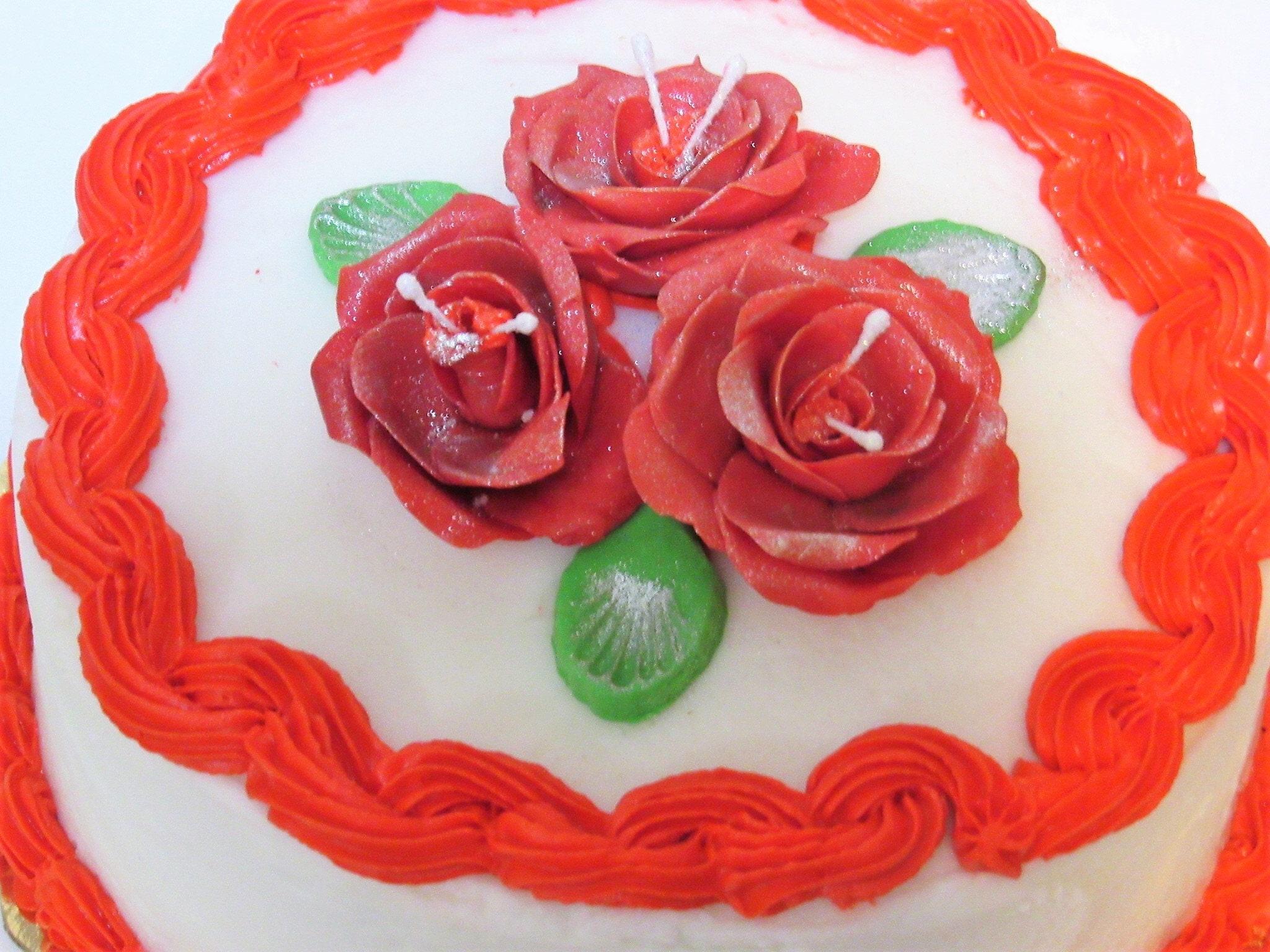 Christmas Cake, Black Cake, Rum Cake or Fruit Cake, with Royal Icing