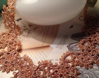 Tatting lace necklace