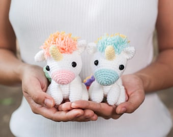 Koibito the Rainbow Unicorn Amigurumi Crochet Pattern