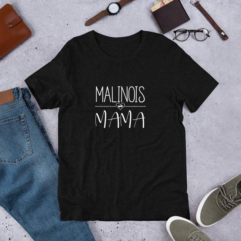 Malinois Mama Shirt  Malinois Mom Shirt  Malinois Gift  image 0