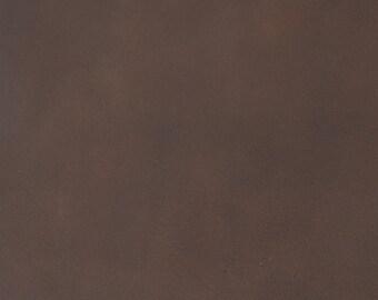 d77a421079b Coupon de cuir de vachette chocolat - Tannage végétal