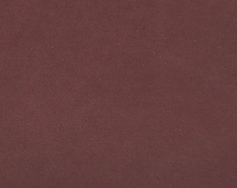 456e676a3e4 Coupon de cuir de vachette bordeaux - Tannage végétal