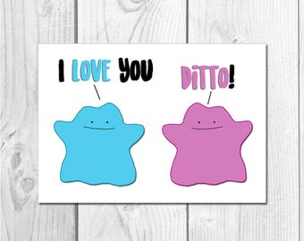 I Love You, Ditto!