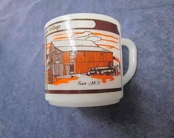 Fire-King Coffee Mug Vintage Fire King