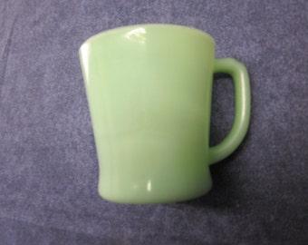 Jadeite Jade Fire-King Coffee Mug Vintage Fire King