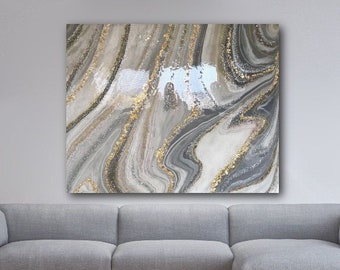 Geode Painting Etsy
