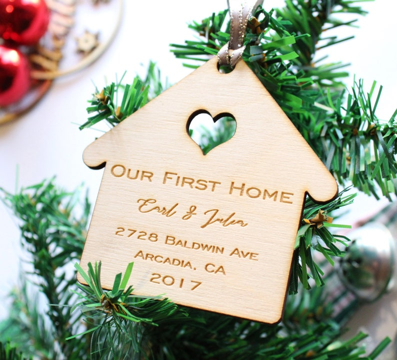 Our First Home Christmas Ornament.Our First Home Christmas Ornament Our First Home Custom Our First Home Ornament New Home Christmas Ornament New Home Ornament