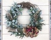 Fall Wreath, Fall Decor,Summer Wreath, Fall Front Door Wreath, Farmhouse Wreath, Rustic Wreath,Autumn Wreath, Wreath,Front Door Wreath