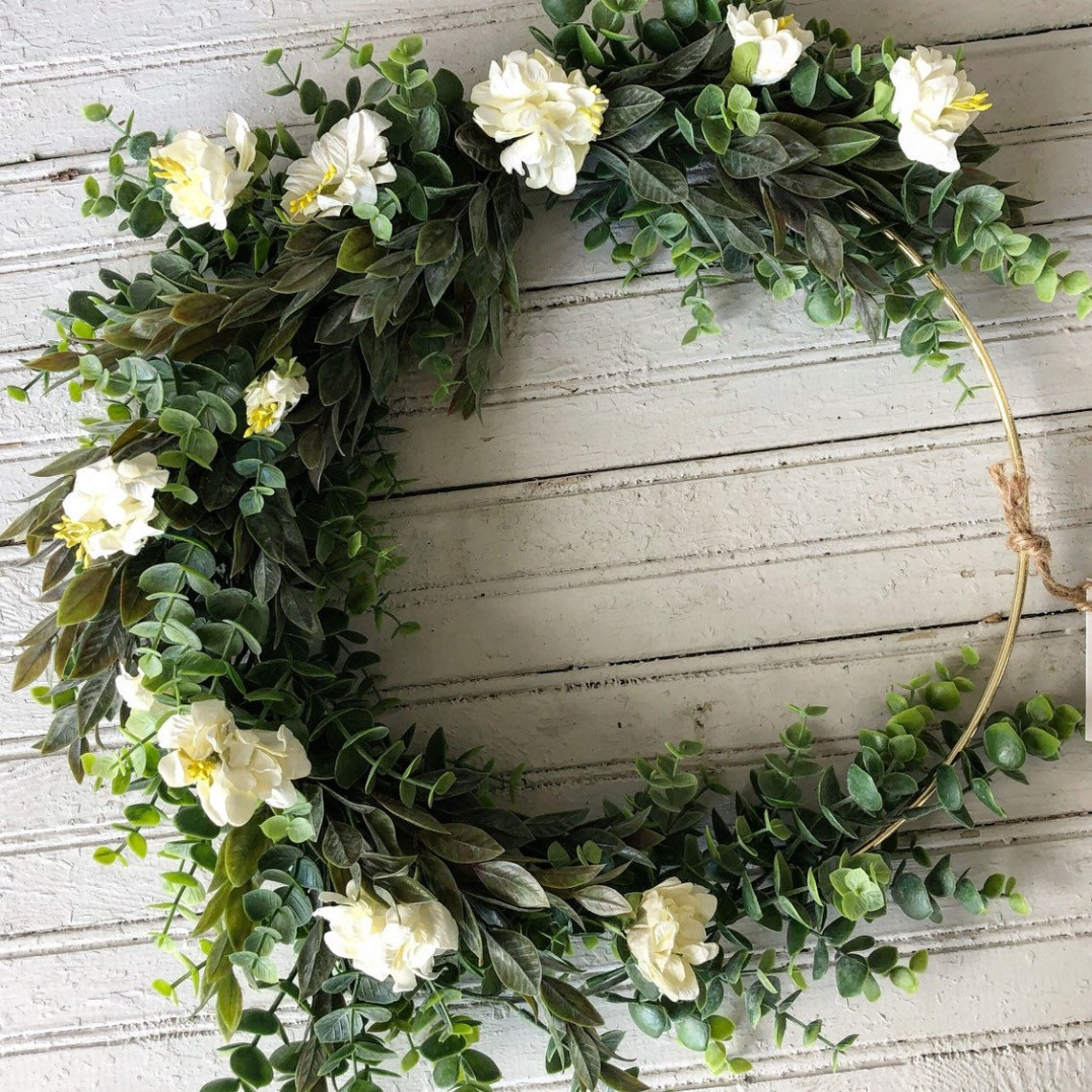Winter wreath Farmhouse Wreath Winter Decor Rustic Wreath image 0