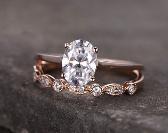 ONLY FOR the Oval Sterling silver ring-main ring only/Cubic Zirconia CZ Engagement ring/Promise ring/Rose gold plated