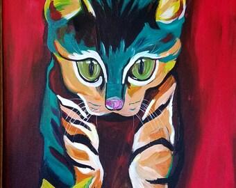 Original Art, Cat