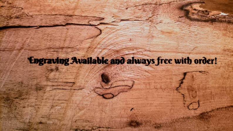 *Free Engraving and shipping* Hand turned Texas Cedar German fountain pen