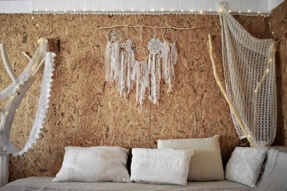 Set 5pcs Dream catcher Wedding decor Wedding Backdrop Photozone Dreamcatcher Nursery decor Boho bedroom Wall hangings  wall decor