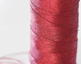 Metallic red thread 0.8mm - 1 meter