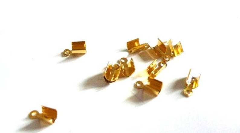 Tips rope metal gold pinch chain creative supplies supplies gold creating jewelry set of 10.7 mm finish finish Ribbon