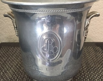 Louis  Roederer Champagne Vintage  Cooler Very Rare To Find Vine Handle Used