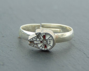 Star Wars Inspired Millenium Falcon Ring