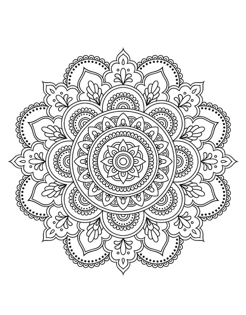 Mandala Coloring Book (Coloring Books, Coloring Pages, Adult Coloring  Books, Adult Coloring Pages, Coloring Books for Adults)