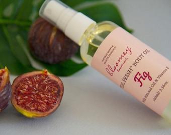 Fig Body Oil, Fig Body Spray, Organic Body Moisturizer, Body Oil Spray, Natural Body Oil, Bath Oil, Scented Body Oil, Natural Body Care